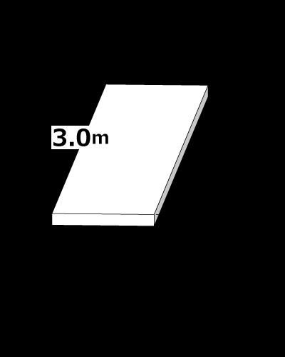 敷鉄板 1.5m x 3m x 22mm